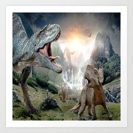 Dinosaur Art Print