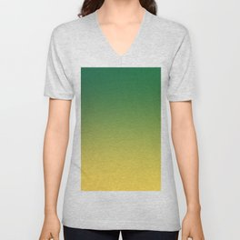 HIGH TIDE - Minimal Plain Soft Mood Color Blend Prints Unisex V-Neck