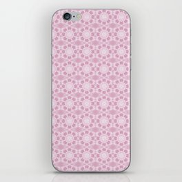 Project 503 | Whit Lace on Pink iPhone Skin