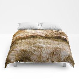 Fluffy Fur Comforters