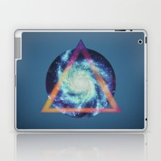 Space galaxy triangle  Laptop & iPad Skin
