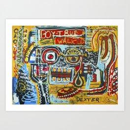 101 Crosby Art Print
