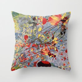 Fish Bowl Snorkle Throw Pillow