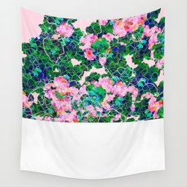 Cherry Blossom Girl Wall Tapestry