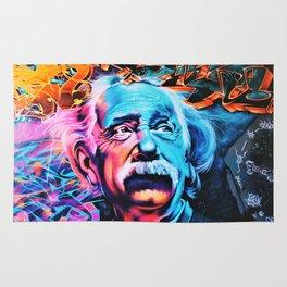 Albert E=mc^2 Einstein Rug