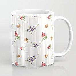 Elegant Christmas - floral spice Coffee Mug