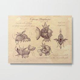 Cyprinus Magikarpus Metal Print