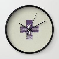 nasa Wall Clocks featuring Nasa by Sebastián Andaur