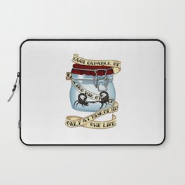 Father of the atom bomb Laptop Sleeve
