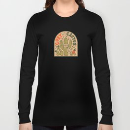 Cozy as a Cactus Long Sleeve T-shirt