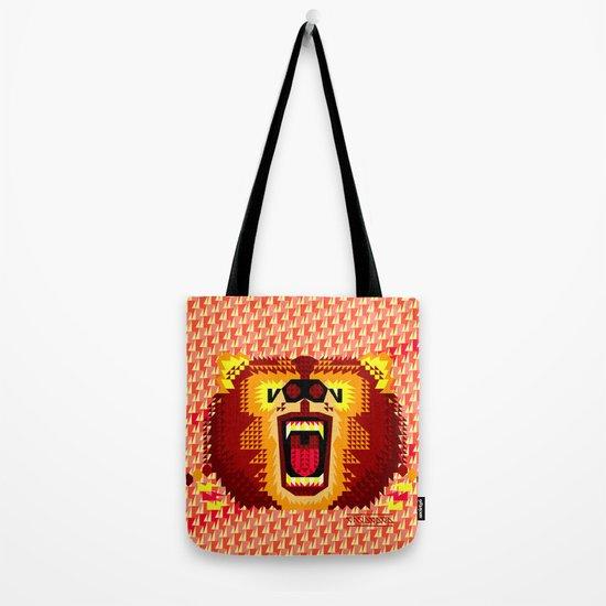 Geometric Bear 2012 Tote Bag