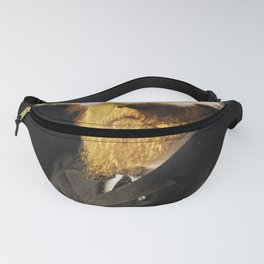 The inability of men with golden faces to be photographed without cloud. Fanny Pack