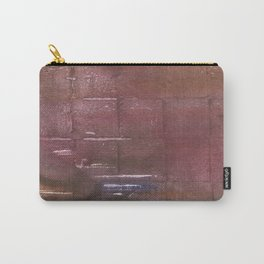 Brown maroon squares Carry-All Pouch