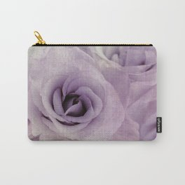 wet purple rose Carry-All Pouch