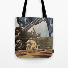 House In Desert Tote Bag