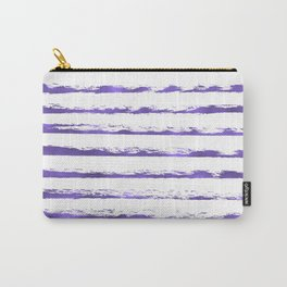 Ultraviolet brush strokes Carry-All Pouch