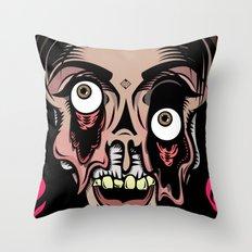Plastic Fantastic Throw Pillow