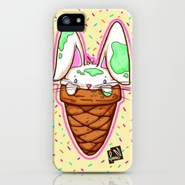 Ice Bunny iPhone Case
