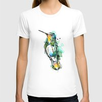 emerald T-shirts featuring Emerald Hummer by Abby Diamond