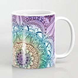 Purple Butterfly Mandala Coffee Mug
