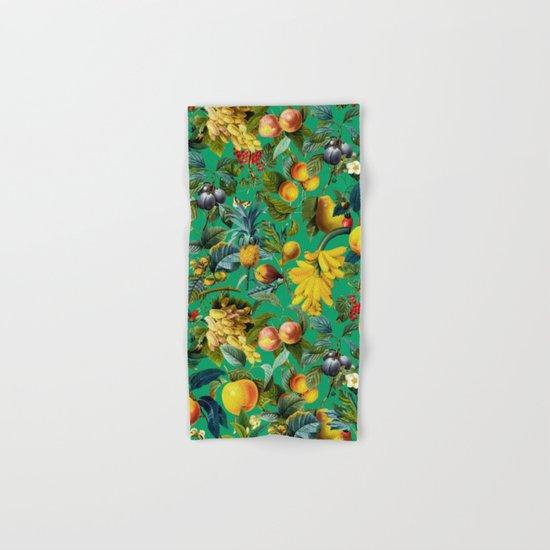 Fruit Pattern Hand & Bath Towel