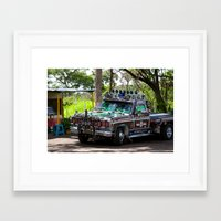 truck Framed Art Prints featuring Truck by Rafael Andres Badell Grau