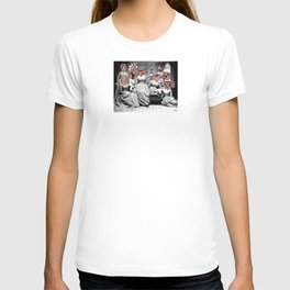 Women´s meating Collage T-shirt