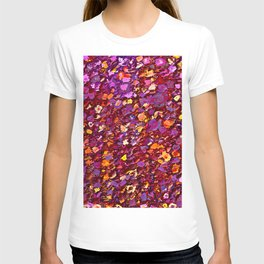 Straw Flowers in the Field T-shirt