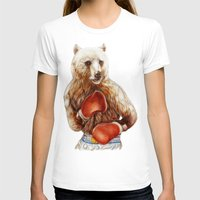 foo fighters T-shirts featuring Bear Fighters. by beart24