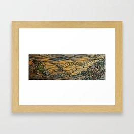 Cellulose Framed Art Print