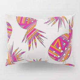 Geometric Pineapples Summer Print Pillow Sham