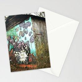 graffiti barn Stationery Cards
