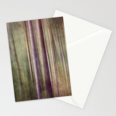 Magical forest at dust Stationery Cards