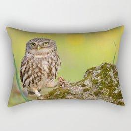 A little owl Rectangular Pillow