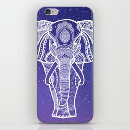 Starry Sky Elephant iPhone Skin