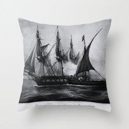 Gaspard Vence - 1777 / Corsaire Throw Pillow