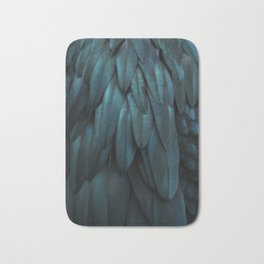 DARK FEATHERS Bath Mat