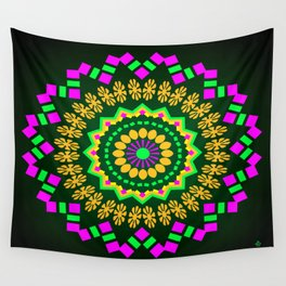 Symmetric composition 24 Wall Tapestry