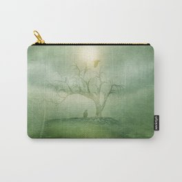 Greenery Sunrise Carry-All Pouch