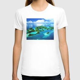 70 Wild Islands Palau T-shirt