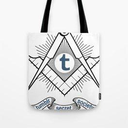 Tumblr Secret Society Tote Bag