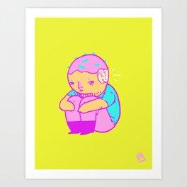 dohnut boy Art Print
