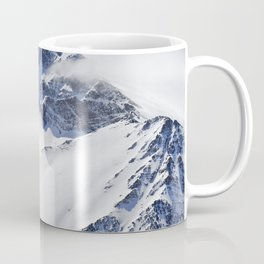 """Big mountains"". Aerial photography Coffee Mug"