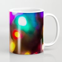 the lights Mugs featuring Lights by Michelle McConnell