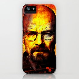breaking bad-walter white iPhone Case