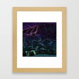 Celestial Cave Dwellers Framed Art Print