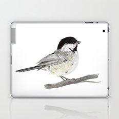 La Mésange à tête noire (Poecile atricapillus) Black-capped chickadee Laptop & iPad Skin