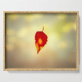 Autumn Leaf Serving Tray