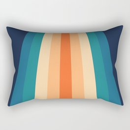70's Retro Palette Rectangular Pillow