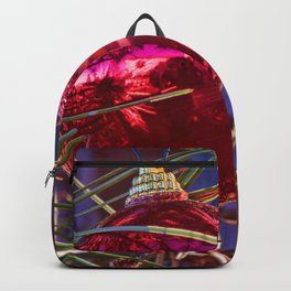 Red Ornament Backpack